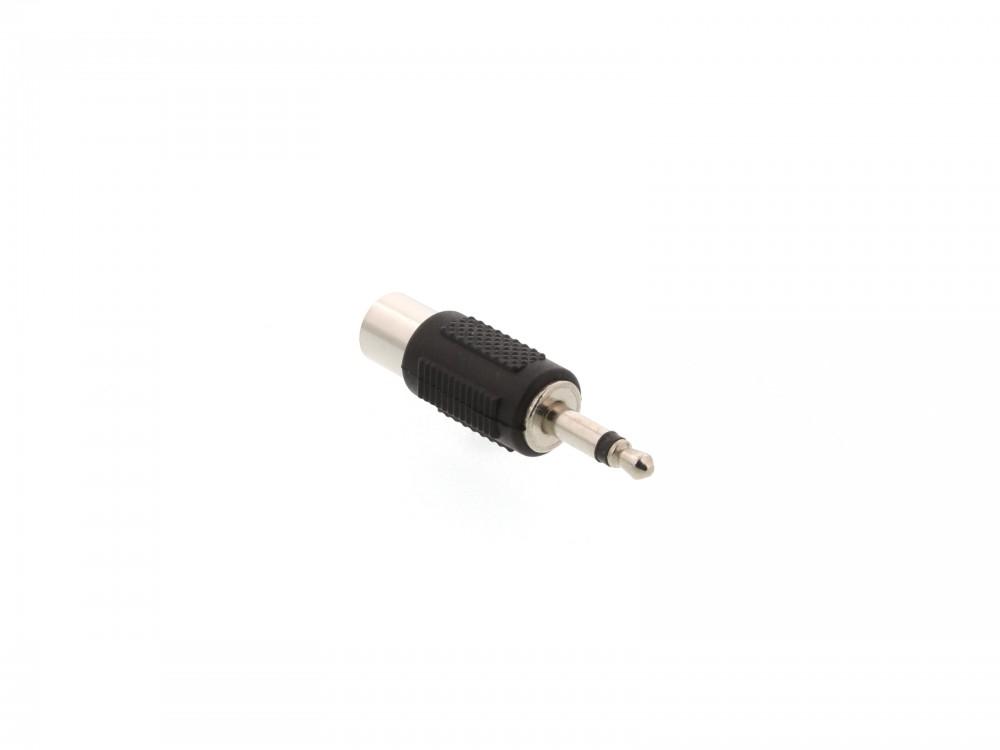 EMF-6618 Adapter Jack dug� 3, 5 mm mono -> RCA aljzat (f�m)