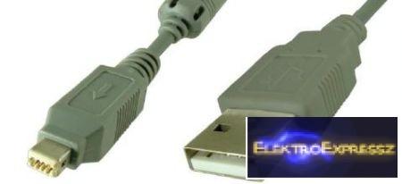 EMF-7929 USB adapter , átalakító kábel USB 4p - USB A dugó