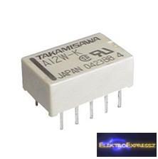 CZ-01760395 Relé 5V 0.5A/125VAC 2xC A5W-K