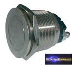 CZ-02630027-Nyomógombos kapcsoló OFF-(ON) 12V (kerekített) metal 2-es tipus