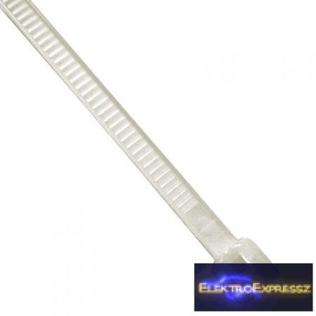 ET-5873 Fehér kábel kötöző. Mérete: 100x2,5mm