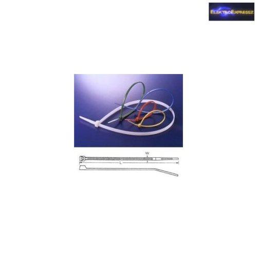 Fekete kábel kötöző 200x3,5mm