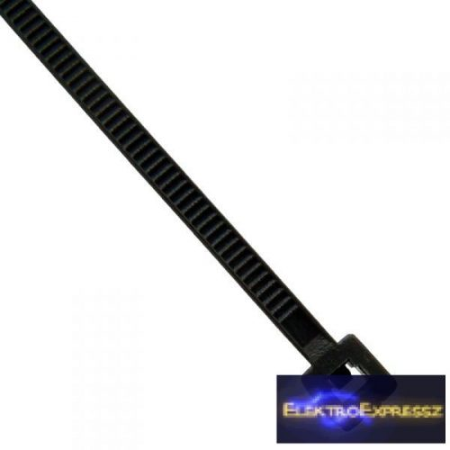 ET-5873F Fekete kábel kötöző. Mérete: 100x2,5mm