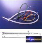 CZ-3040086 kábelkötegelő 190x4.8mm fehér