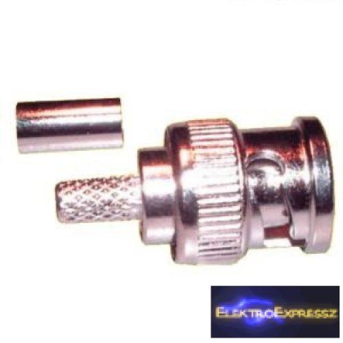 ET-3245 BNC krimpelhető dugó RG6-os kábelra.