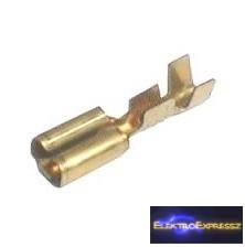 CZ-03360087-Csúszósaru lemezes szigeteletlen 4.8mm 0.3-1mm