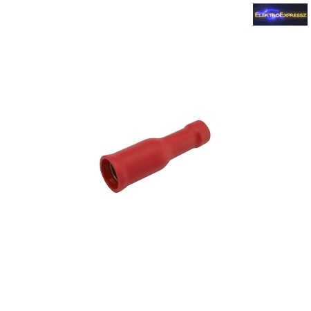 CZ-03360096-Szigetelt hengeres saru 5.0mm, 4.0-6.0mm Sárga