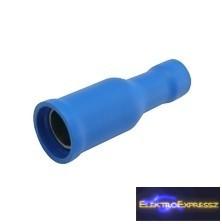 Szigetelt hengeres saru 4.0mm, 1.5-2.5mm Kék