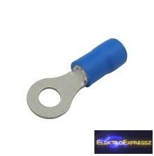 CZ-03360110-Szigetelt szemes saru 4.3mm, 1.5-2.5mm Kék