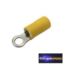CZ-03360115-Szigetelt szemes saru 4.3mm, 4.0-6.0mm Sárga