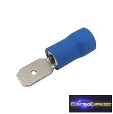 CZ-03360135-Szigetelt csúszósaru 4.8mm, 1.5-2.5mm Kék