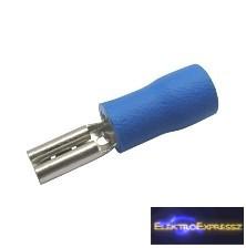 CZ-03360141-Szigetelt csúszósaru 2.8mm, 1.5-2.5mm Kék