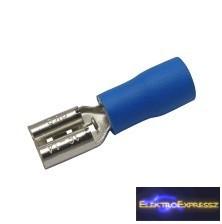 CZ-03360142-Szigetelt csúszósaru 4.8mm, 1.5-2.5mm Kék