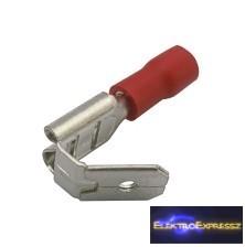 CZ-03360148-Kábelsaru szigetelt 6.3mm, 0.5-1.5mm Piros