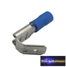 CZ-03360149-Kábelsaru szigetelt 6.3mm, 1.5-2.5mm Kék