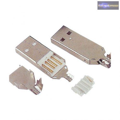 USB A szerelhető dugó
