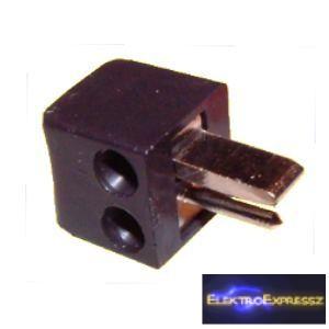 ET-4507 Hangszóró dugó. Fekete színű.