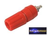 CZ-03380084 Banán dugó aljzat (panel, szigetelt) piros
