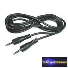 CZ-03510012 Audió kábel 3,5 sztereó JACK dugó - 3,5 sztereó JACK dugó (1,5m)