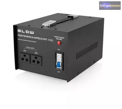 Feszültségátalakító PRT-1000 230V / 110V 1000W