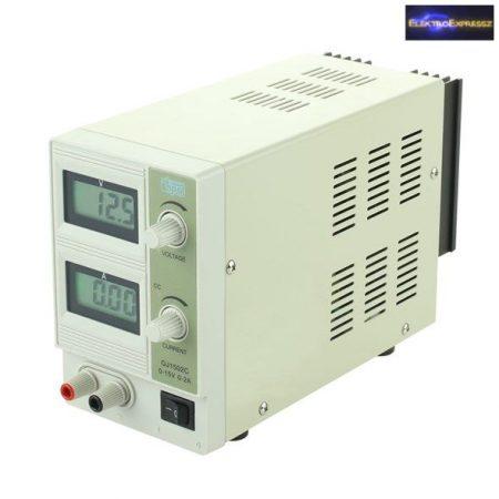 Labortápegység 0-15V/ 0-2A QJ1502C