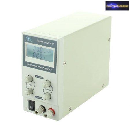 Labortápegység 0-30V/ 0-3A PS3003