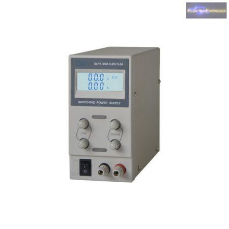 Labortápegység GLPS 0-30V/ 0-5A PS3005