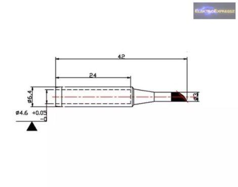 Tartalék pákahegy ZD-8919 N9-36