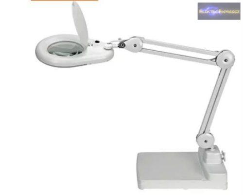 Asztali nagyítós lámpa 5 dioptria
