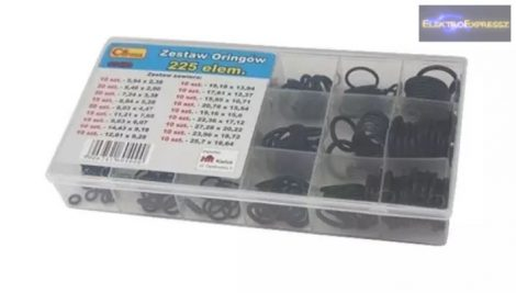 O-gyűrű készlet készlet AVOSS G0400 225db