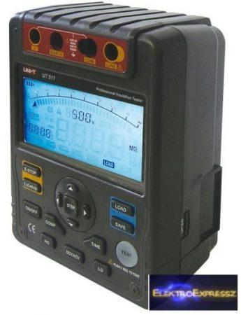 CZ-07720083 Digitális szigetelési ellenállás mérő UNI-T UT511 1kV