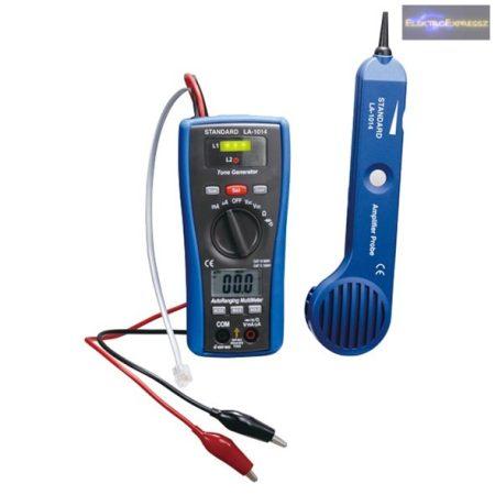 Hanggenerátoros vezetékkereső és multiméter egyben LA-1014