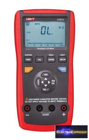 CZ-07720150 Multiméter UNI-T UT612 RLC, USB, automatikus