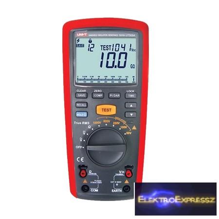 LP-MIE0179 Multiméter UNI-T Szigetelés ellenállás UT505A