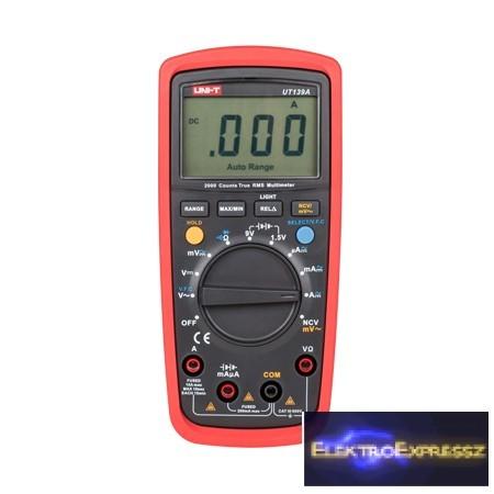 LP-MIE0154 Multiméter UNI-T  UT139A