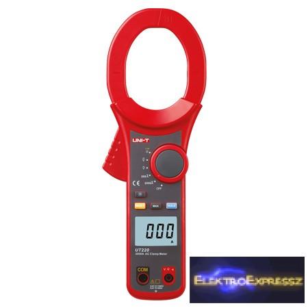 LP-MIE0180 digitális lakatfogó  2000A UT220 UNI-T