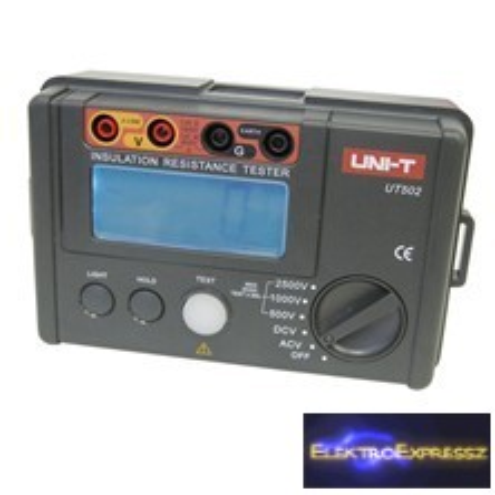 LP-MIE0126 Multiméter szigetelés ellenállás mérés UNI-T UT502