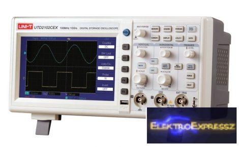 CZ-07730071 Oszcilloszkóp UNI-T UTD2102CEX