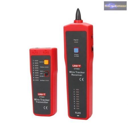 UTP kábel teszter UNI-T UT682 (RJ45)