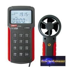 CZ-07760031 Szélmérő UNI-T USB UT362