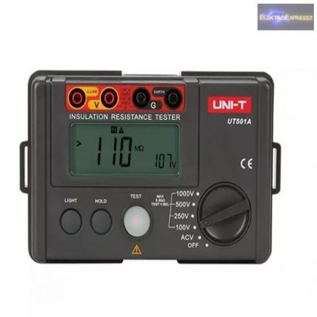 Szigetelésvizsgáló UNI-T UT501A