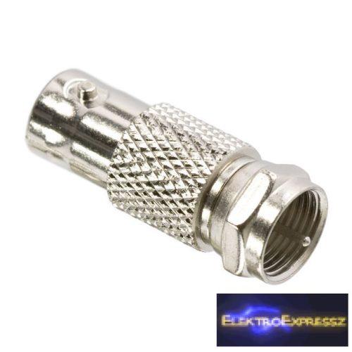 GA-05050 BNC / F átalakító BNC aljzat - F dugó aranyozott tüske