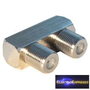 ET-1577 F osztó (2 aljzat) réz