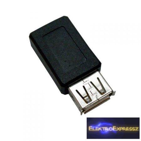 ET-18026 USB-A aljzat-mini 5pólusú aljzat adapter