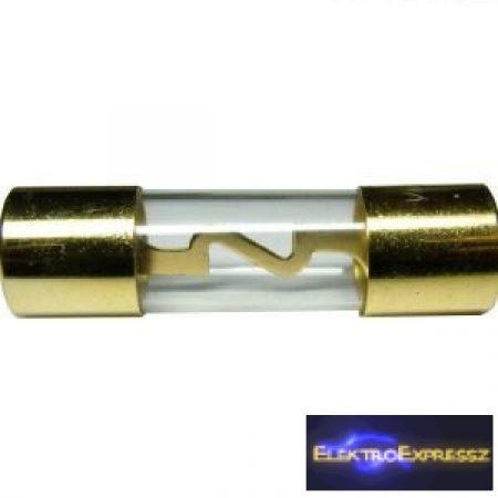 ET-2252 autó Hi-Fi biztosíték 50A aranyozott 10x37mm