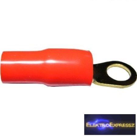 ET-2387R Aranyozott gyűrűs csatlakozó piros