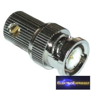 ET-3220 BNC csavaros dugó RG6 kábelra