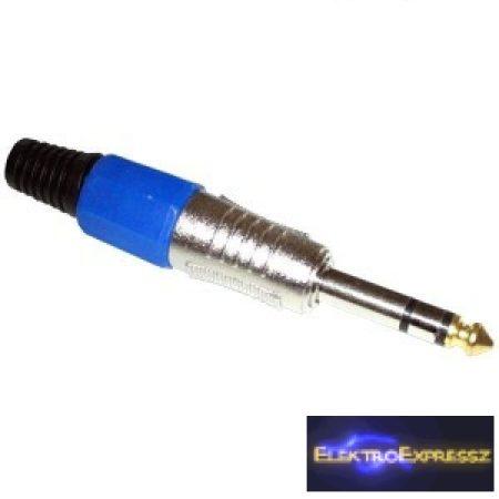 ET-4061C 6,3mm-es sztereó jack dugó
