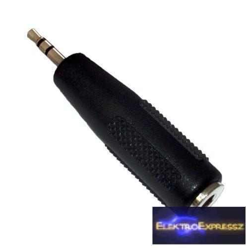 ET-4115TW 2,5mm sztereó jack dugó-3,5mm szt. jack aljzat