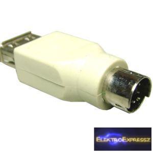 ET-5045 USB A aljzat-PS/2 dugó